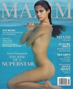 Sara Sampaio on Maxim Magazine May 2016 Cover
