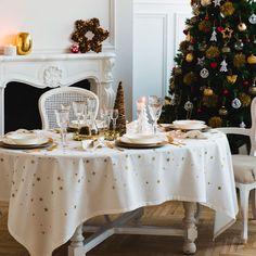MANTEL Y SERVILLETAS ESTAMPADO ESTRELLAS - Mesa - Navidad | Zara Home España