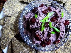 Black Bean Jalapeno Hummus 2 1/2 cups cooked black beans 1 jalapeno, seeded and minced 1/4 cup almond butter 1/4 cup lime juice 2 tsp cumin seed 1 tsp dried thyme 1/2 tsp ground chipotle or to taste sea salt to taste