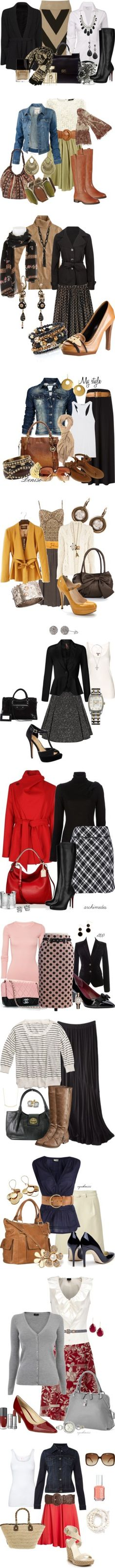 """""""Don't Skirt the Issue"""" by stylesbyjoey on Polyvore"""
