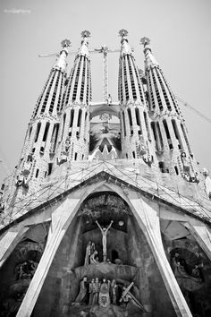 La Sagrada Familia. expected to be finished in 2025.