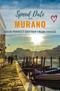 You need a complete travel guide for one day in Murano / Venice to discover the best things to do? Use the BIG5 checklist, one day itinerary & maps to spend a perfect day during your weekend getaway in Italy. Find all aspects of your travel planning to Murano: How to get there, ultimate guide with recommendations where to stay, best restaurants, activities, attractions, view points foto spots to boost your instagram profile and off the beaten track must-see #murano #venice Italy Travel Tips, Top Travel Destinations, New Travel, Travel Guide, Day Trips From Venice, Visit Italy, Trip Planning, Travel Inspiration, Things To Do