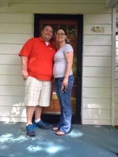 The Sprotts look great in front of their new home!! Congrats to them!! #happyclients