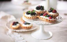 Tartellette ai frutti di bosco Berries tart #tartellette #tart #pie #berries #fruttidibosco