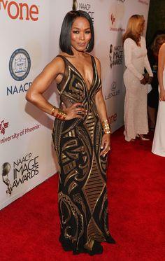 Angela Bassett Photos - 46th NAACP Image Awards — Part 2 - Zimbio