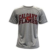 Calgary Flames performance Arch Youth Tee