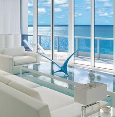 minimalist decor with great ocean views