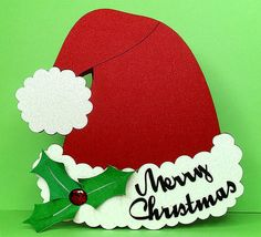 santa hat card free/ a page full of free card files