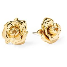 Marc by Marc Jacobs Jerrie Rose Stud ❤ liked on Polyvore featuring jewelry, earrings, accessories, gold, brincos, bullet earrings, marc by marc jacobs earrings, bullet jewelry, rose gold tone jewelry and marc by marc jacobs jewelry
