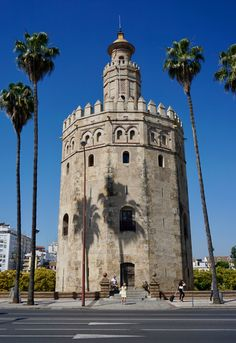 Spain Travel Inspiration - Torre del Oro, Seville, Spain