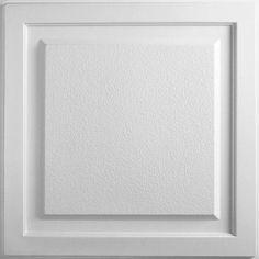 <p> Cornerstone Ceiling Tile - White</p>