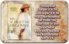"""Leserattes Bücherwelt: [Rezension] """"Ein Schritt ins Ungewisse"""" Elizabeth ..."""