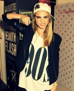 Cara Delevingne  | via Tumblr