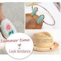 5 accessoires tendance pour l'été.#bracelet #braceletchic #bijoux #tendance #accessoires #bohème #boho #été #été2018 #fashion #inspiration #look #plage #sacdeplage #chapeau #lunettesdesoleil #soleil #tenue #style #lookplage