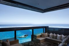 Make waves with waterfalls, fountains and slides in these top 75 best swimming pool designs. Explore the coolest backyard home pool ideas ever. Ideas De Piscina, Architecture Design, Water Architecture, Residential Architecture, Piscina Interior, Best Swimming, Indoor Swimming, My Pool, Swimming Pool Designs