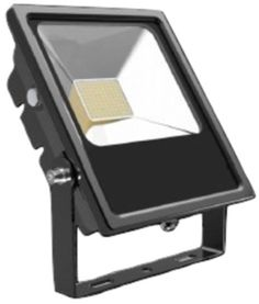 Bright 1000 BEFL050-6K 50W LED Flood Light, 6000K - Major Electronix now offers a selection of LED lighting fixtures from Bright 1000, including outdoor flood lights. Ideal for illuminating the outside of buildings, they feature heat dissipation and a 4mm thick glass lens. #Bright1000 #LEDFloodLight