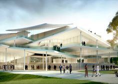 Norwegian firm Snøhetta and Japanese studio SANAA won the competition to design Budapest museums.