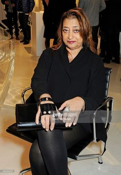 Zaha Hadid attends the Zaha Hadid for Caspita pop-up store launch event on November 28, 2013 in London, England.