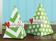 Spotted: Our stamps on these super cute gift wraps from Paper Crafts magazine's Holiday Cards & More Volume 7 special issue. The words are from the Good Cheer by Ali Edwards stamp set (available on TechniqueTuesday.com).