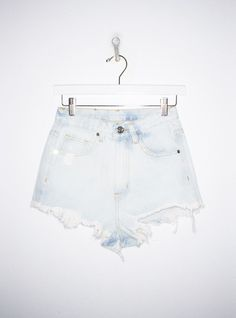 Taryn Highrise Shorts in Light Blue BY UNIF