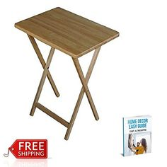TV Dinner Portable Table Breakfast Bed Computer Snack Table Small Beige U0026  EBook By AllTim3Shopping