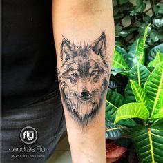 """401 свиђања, 7 коментара -  Andres Flu (@andresflu) у апликацији Instagram: """"Sketch animal #sketchtattoo #sketch #animaltattoo  #animal  #wolf #wolftattoo #lobotattoo #lobo…"""""""