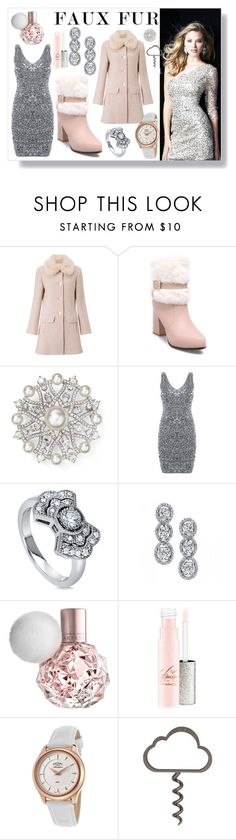 """""""Faux Fur reloaded"""" by majalina123 ❤ liked on Polyvore featuring Miss Selfridge, Nadri, BERRICLE, Harry Kotlar and Rotary"""
