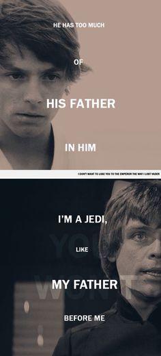 Star Wars - Luke Skywalker: You've failed, Your Highness. Star Wars Love, Star Wars Art, Star Trek, Mark Hamill, Anakin Skywalker, Star Wars Luke Skywalker, Saga, Starwars, Star Wars Personajes