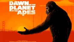 Planet of the Apes alternative movie poster by Doaly