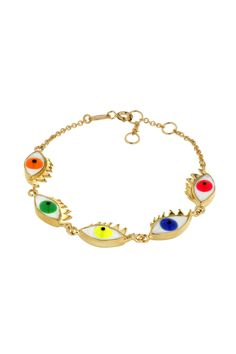 Really need this! colorful eyes bracelet