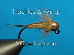 Fly Tying Flashback Jig Nymph | Hackles & Wings - YouTube