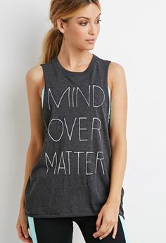 Mind Over Matter Muscle Tee | Forever 21 | #f21active
