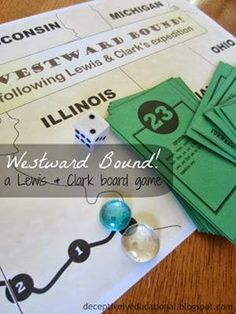 Lewis and Clark Board Game thumb 13 Free Printable History Board Games