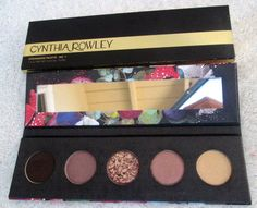CYNTHIA ROWLEY...EYESHADOW PALETTE - No. 1...NIB - WARM COLORS #CynthiaRowley