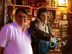 Chillin' with Elvis.  Why not?