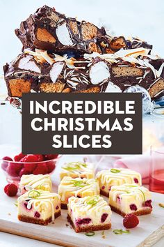 Try those awesome and also very easy Christmas dinner party to make a great party for your family, family and friends! Holiday Treats, Christmas Treats, Christmas Time, Family Christmas, Best Christmas Desserts, Winter Treats, Christmas Cakes, Simple Christmas, Xmas Food
