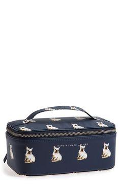 french bulldog cosmetic case