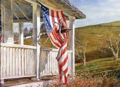 Cross Stitch Collectibles - - - Election Day - All Patterns - - Americana - Patriotic - Cross Stitch Collectibles Cross Stitch Designs, Cross Stitch Patterns, David Armstrong, Fantasy Cross Stitch, Paint Pens, American Artists, Art Photography, Art Gallery, Fine Art