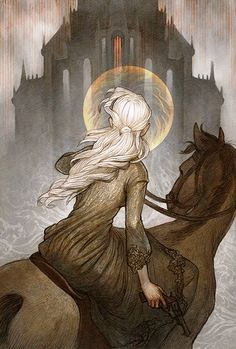 Sankta Alina _ Illustration by Amanda Sartor (link to portfolio with more awesome work)