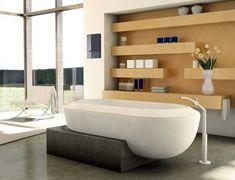 Plinth Bath by Hugh Thomas