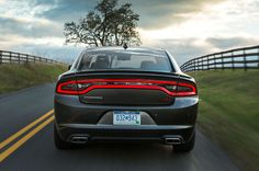 2015-Dodge-Charger-RT-rear-view-in-motion-2 2015 Dodge Charger, Dodge Chrysler, First Drive, Rear View, Offroad, Photo Galleries, Adventure, Off Road, Adventure Movies