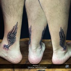 #grifon #tattoo #antonyc #limassol #ink #tattoolove #customdesign #wings #ankle #blackandwhite