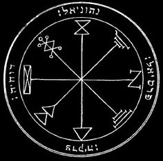 The First Pentacle Of Jupiter. Alchemy, Witchcraft, Magick