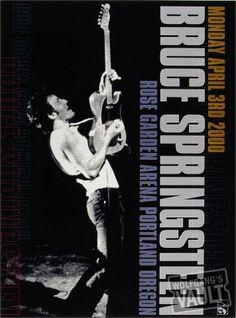 Bruce Springsteen - April 3, 2000, Rose Garden, Portland, OR