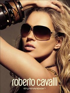 Kate Moss | Roberto Cavalli Eyewear