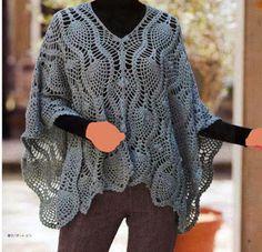 Crochet: Crochet poncho