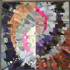 Two in One , 103 x 103 cm, for sale Ursula, American Quilt, Quilt Art, Scrappy Quilts, Textile Art, Kisses, Moose, Patches, Design Inspiration