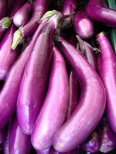 Eggplant by Laura Bell Purple Haze, Shades Of Purple, Fruit And Veg, Fruits And Vegetables, Fresh Beets, Eggplant Recipes, All Things Purple, Recipe Collection, My Favorite Color