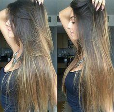 Ombre Hair loira