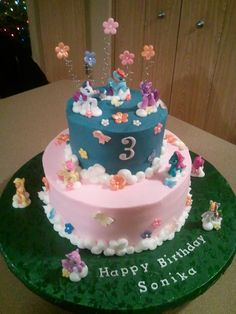 My little pony party cake...